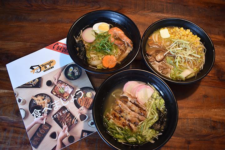 Teriyaki Boy & Sizzlin' Steak's Ramen Festival serves a trio of Japanese favourites