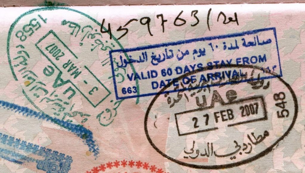 This type of UAE visa is invalid once you leave the country
