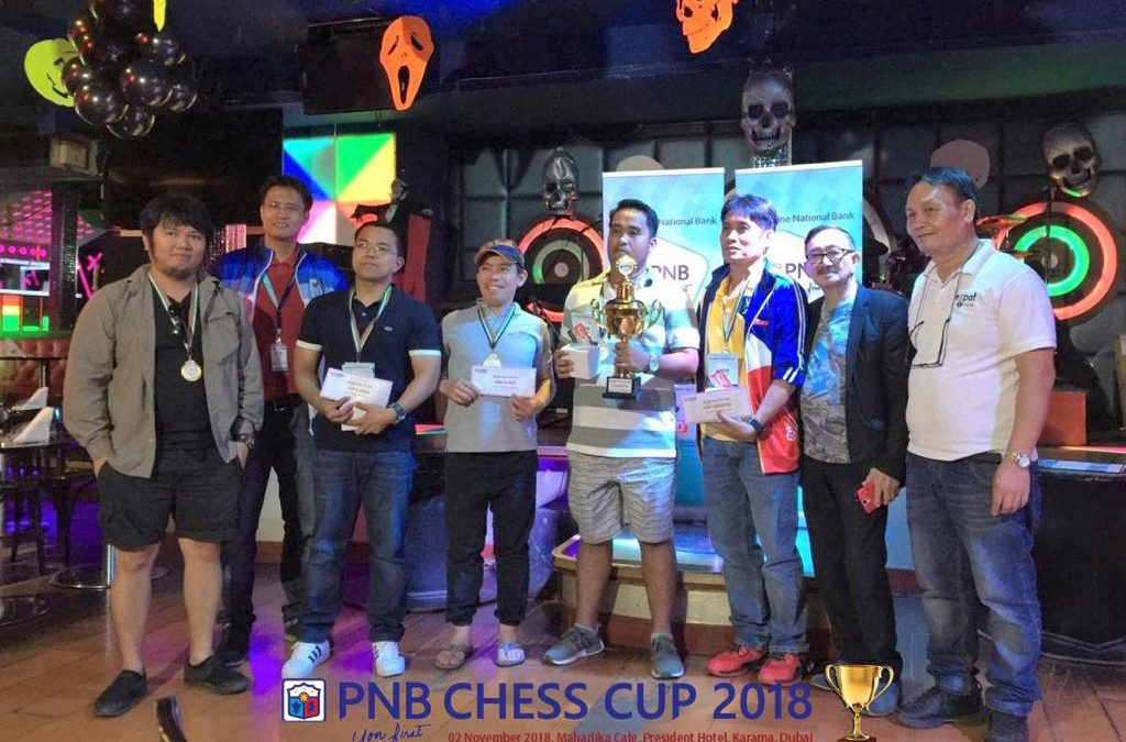 Pinoy chess tournment sa Dubai