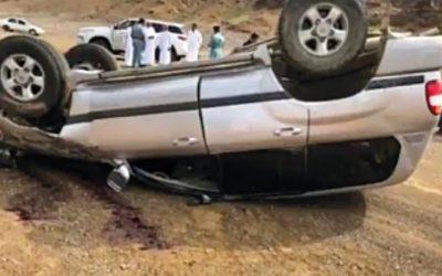 Man dies after car flips over in Fujairah