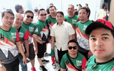 PANUORIN. Umaatikabong aksyon sa 2nd Congen's Cup 2018 Cycling Race
