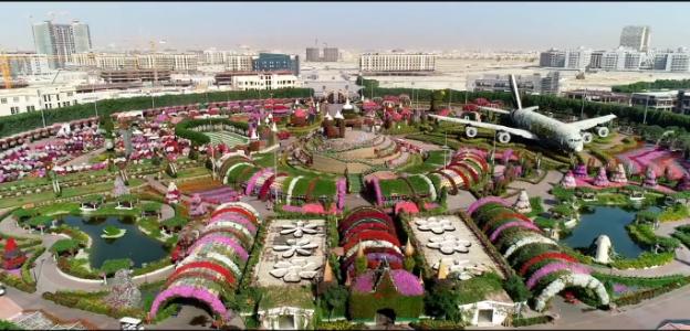 Dubai Miracle Garden in full bloom for its 7th season