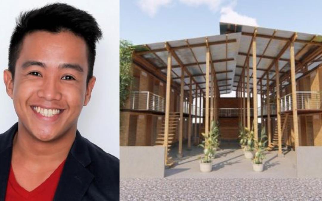 Filipino designer wins P3.3 million for his bamboo 'CUBO' concept