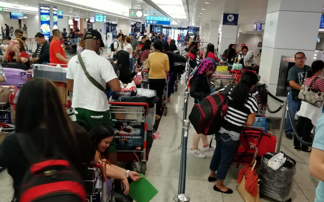 New batch of OFWs from UAE arrives in PH in amnesty scheme's final week