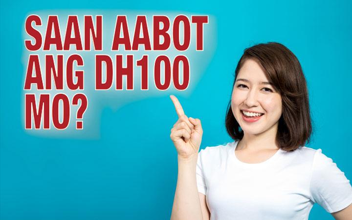 Saan aabot ang Dh100 mo?