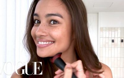 Vogue features Kelsey Merritt after Victoria's Secret Fashion Show debut