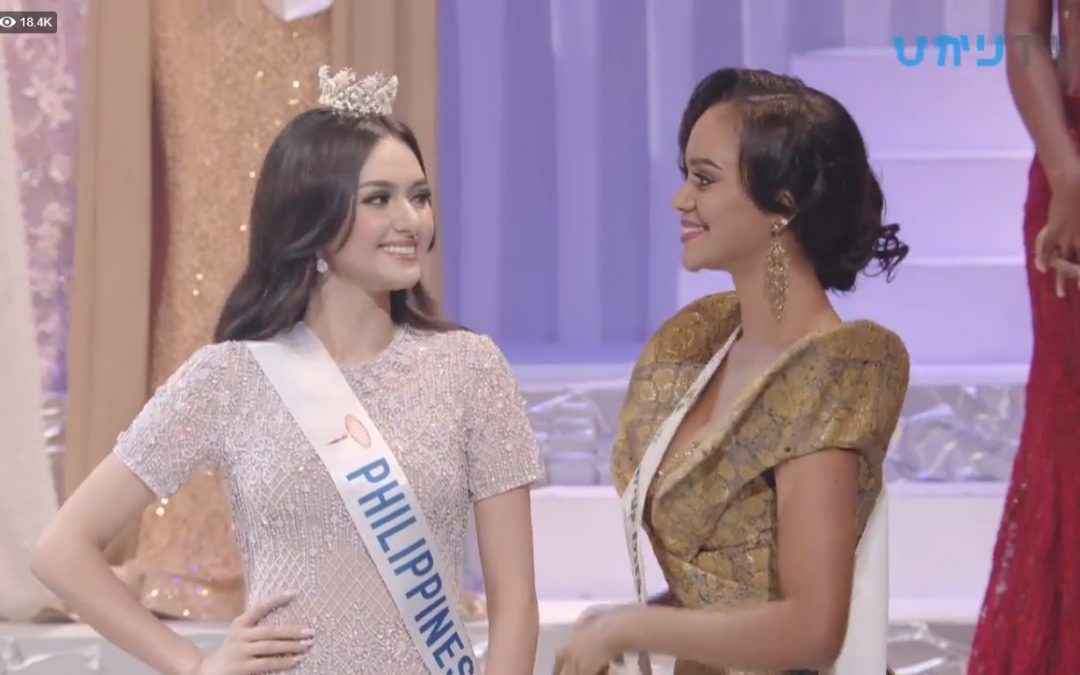 PH's bet finishes as first runner-up in Miss International 2018