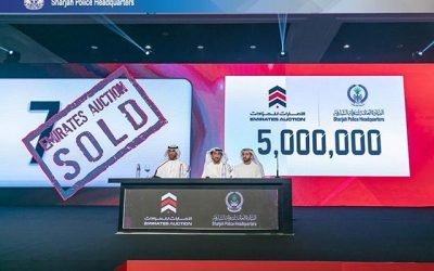 Car plate sold for Dh5 million in UAE