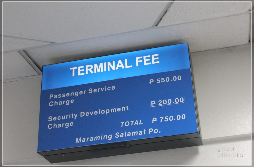NAIA terminal fee hikes from P550 to P750