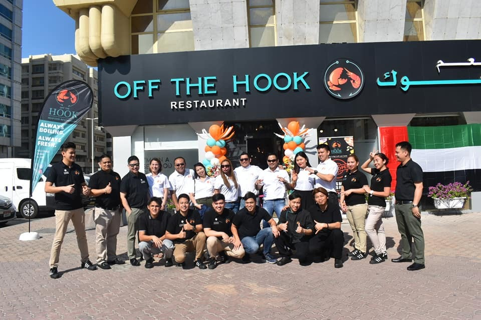 Off The Hook opens 4th branch in Abu Dhabi - The Filipino Times