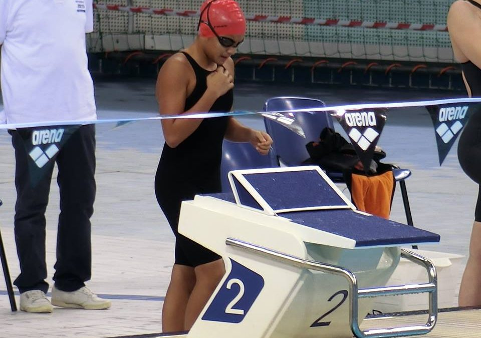 Filipina bags gold medals, beats own record in swimming event in Dubai