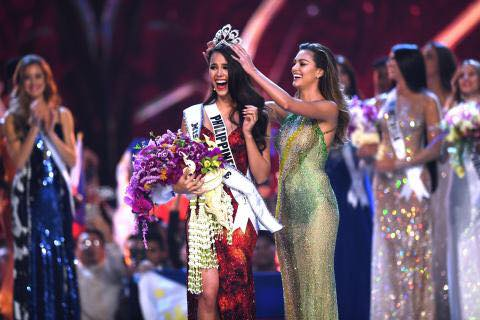 Miss World congratulates Catriona Gray for winning Miss Universe