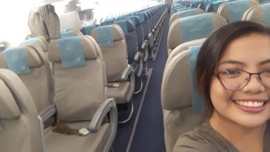 Photo of Filipina shares experience as sole flight passenger