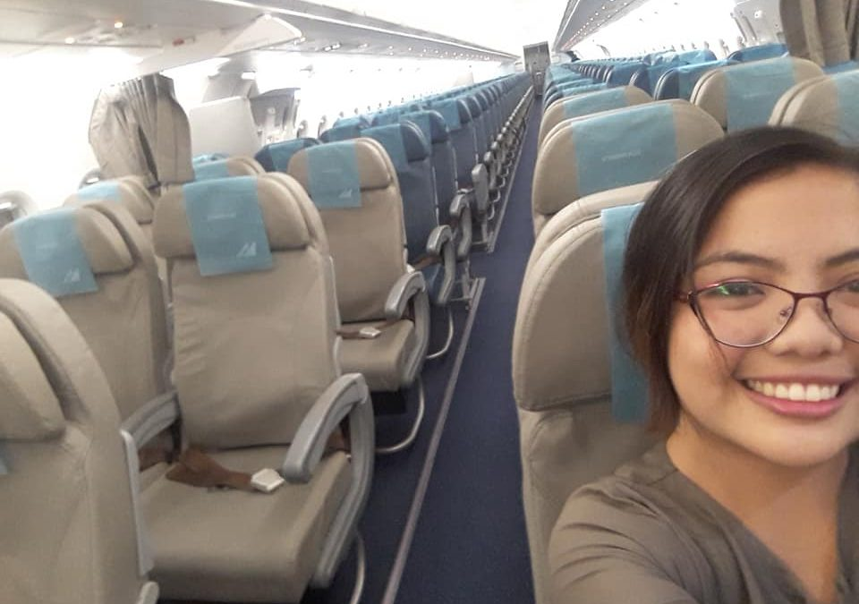 Filipina shares experience as sole flight passenger