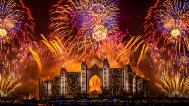 Photo of LOOK: Fireworks schedules across the UAE for New Year's Eve
