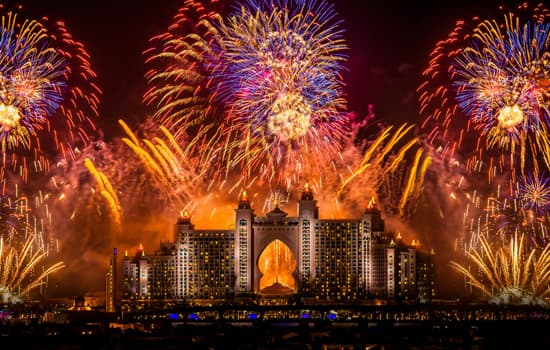 LOOK: Fireworks schedules across the UAE for New Year's Eve