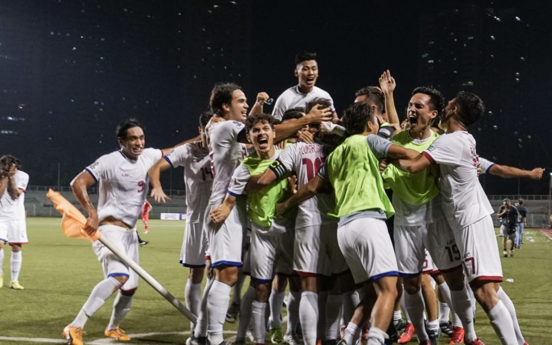 Azkals meet-and-greet at Max's Karama set