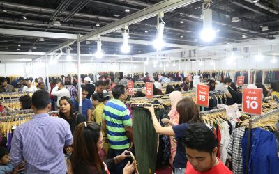 Crowds flock at Concept Big Brands Carnival Mega Sale