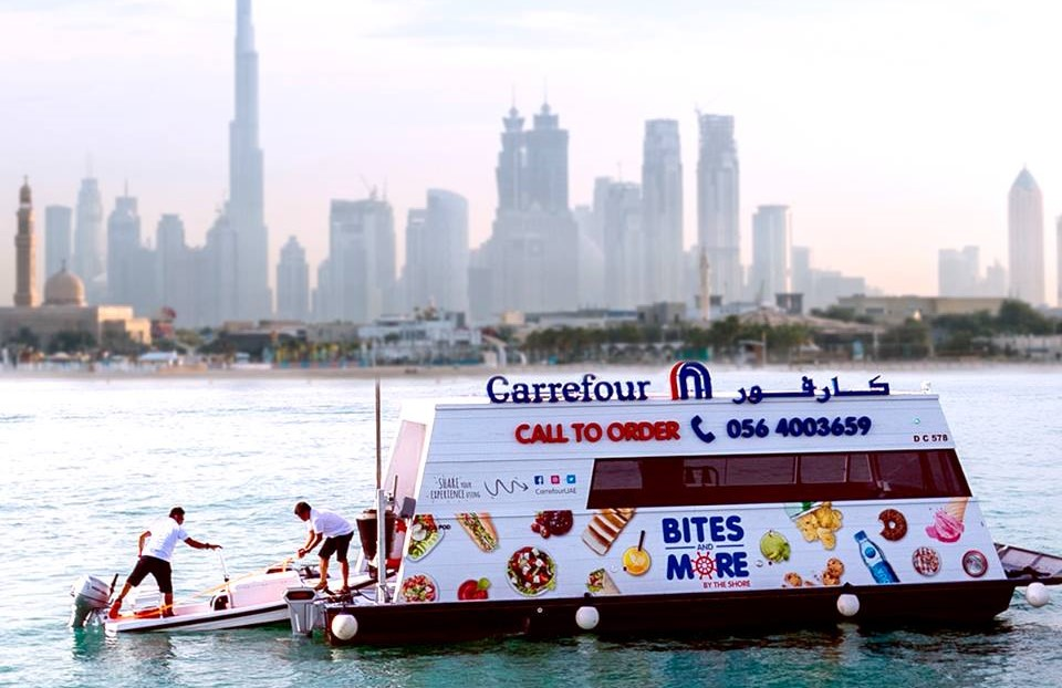 LOOK: Carrefour launches world's first sail-thru supermarket in Dubai