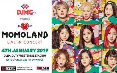 Momoland ready to excite Dubai fans at 1st major concert of 2019