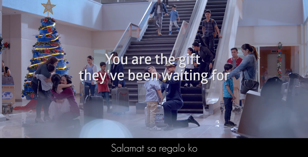 WATCH: Filipino kids welcome their parents flying home for Christmas
