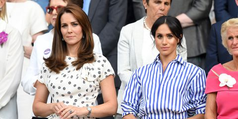 Is there tension between Kate Middleton, Meghan Markle?