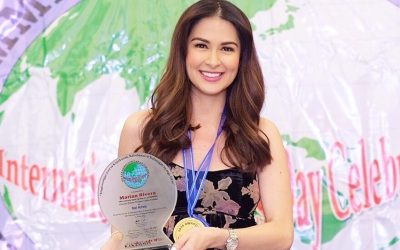 Marian Rivera, Dingdong Dantes receive recognition from OFW award-giving body