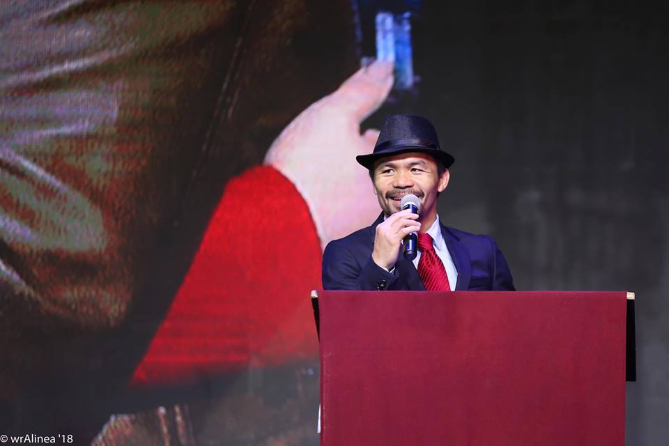 Manny Pacquiao gives away Php5 million worth of cash, prizes on his 40th birthday