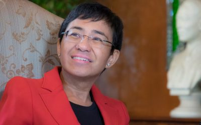 Maria Ressa posts bail after one night in detention