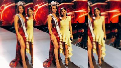 Photo of Pia Wurtzbach congratulates Miss Universe 2018 Catriona Gray