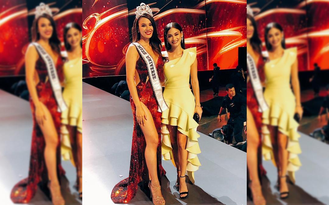 Pia Wurtzbach congratulates Miss Universe 2018 Catriona Gray