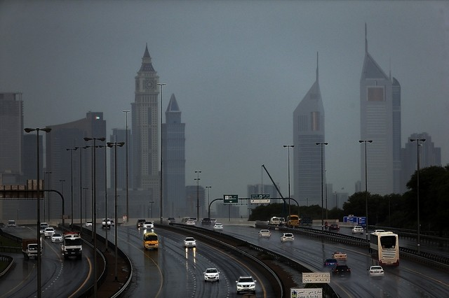 Heavy rain expected to pour over UAE all weekend