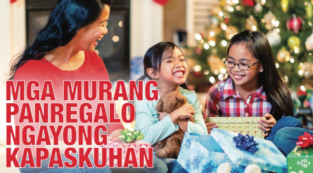 Mga Murang Panregalo Ngayong Kapaskuhan The Filipino Times