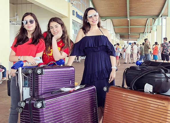 Left behind: Ruffa Guttierez misses flight after heavy traffic in Kuala Lumpur