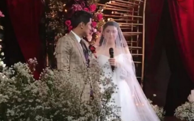 LOOK: Aljur Abrenica, Kylie Padilla tie the knot