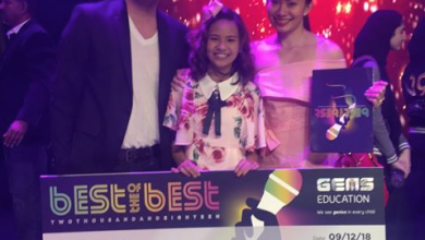 Photo of Pinay kid wins Dh10,000 in singing competition in Dubai