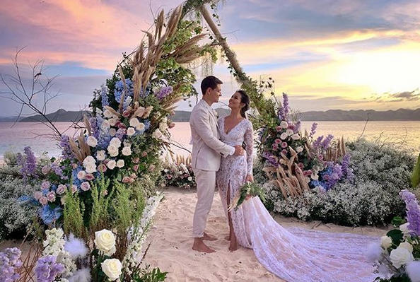 IN PHOTOS: Iza Calzado ties the knot with long-time partner Ben Wintle
