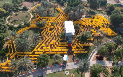 """""""The Wonder Maze"""", the world's largest mobile maze opens in Abu Dhabi"""