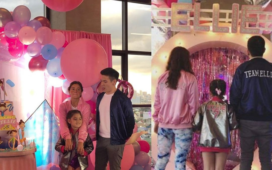 Andi Eigenmann, Jake Ejercito set aside differences for daughter's 7th birthday