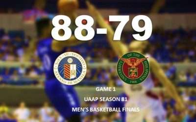 Ateneo downs UP to take Game 1 of UAAP men's basketball finals
