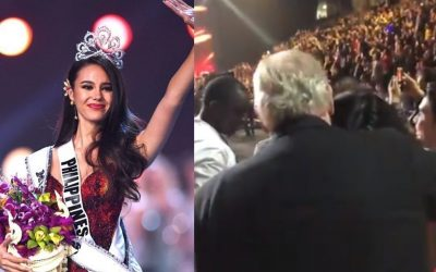 VIRAL: Catriona Gray's parents' reaction when their daughter won Miss Universe