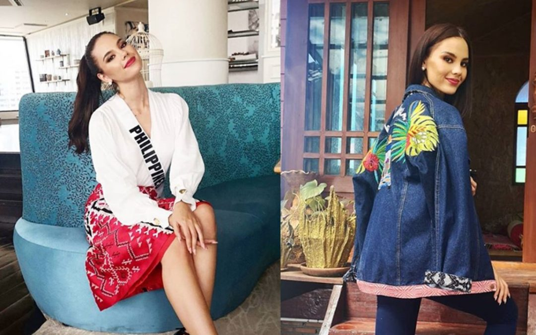 A peek at Catriona Gray's patriotic outfits at Miss U pre-pageant