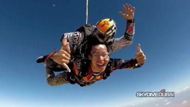 Photo of WATCH: Enchong Dee goes skydiving in Dubai
