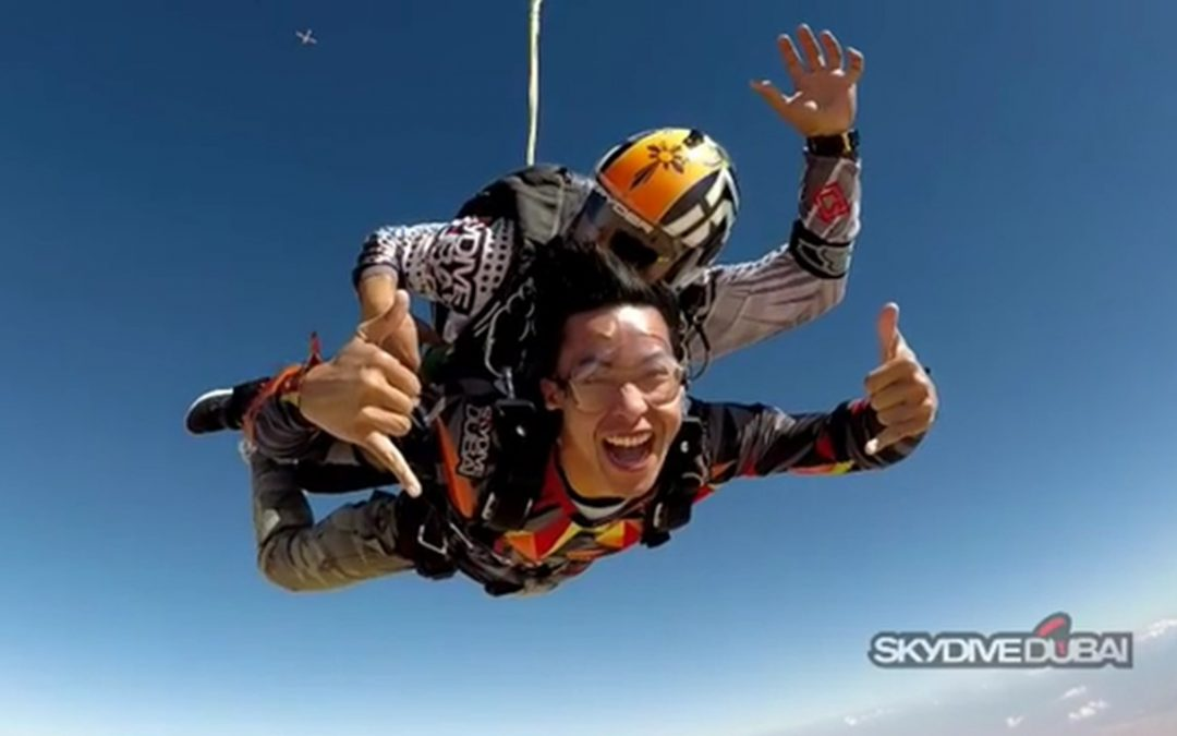 WATCH: Enchong Dee goes skydiving in Dubai
