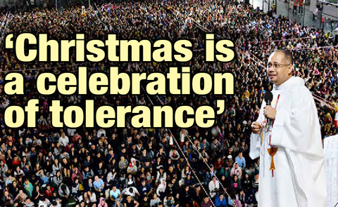 'Christmas is a celebration of tolerance'
