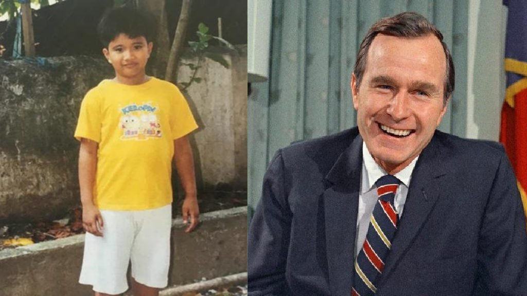 Filipino kid reveals secret sponsorship he received from George H.W. Bush
