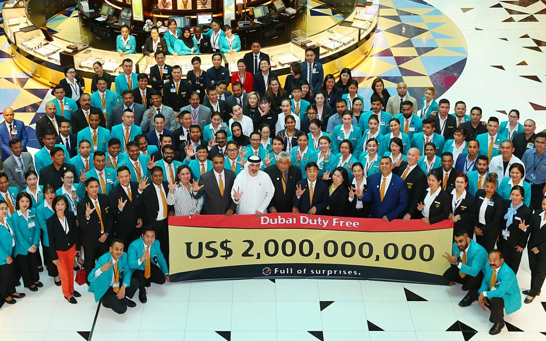 Dubai Duty Free achieves US$2 billion sales mark