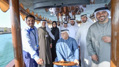 Photo of Al Tayer inaugurates trial run of the first 20-seater hybrid abra