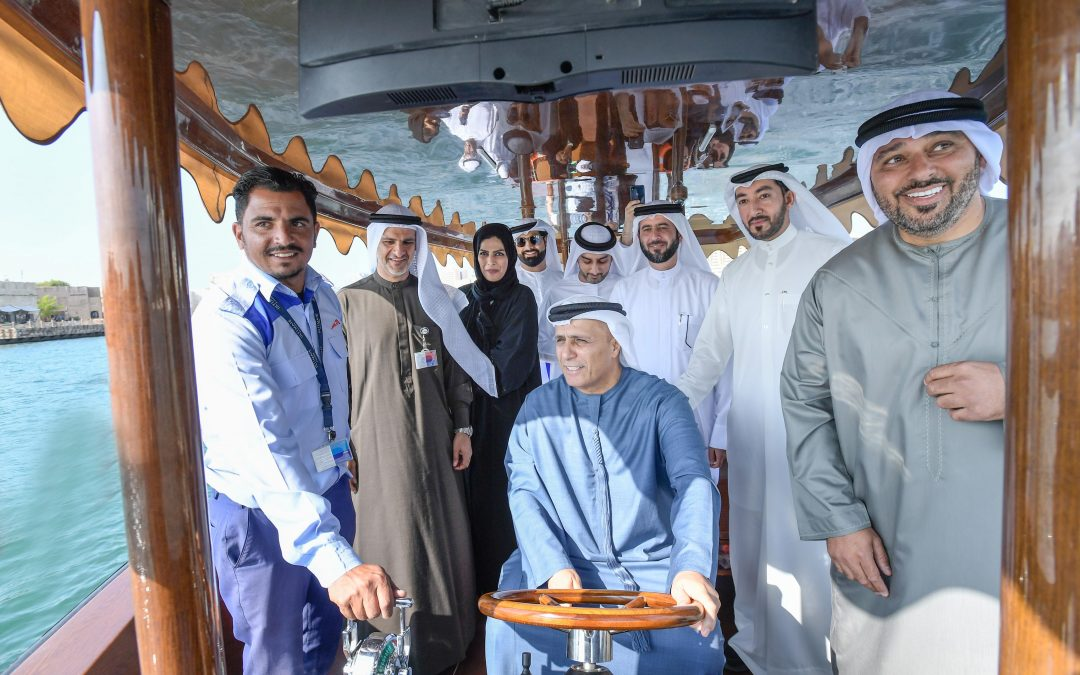 Al Tayer inaugurates trial run of the first 20-seater hybrid abra