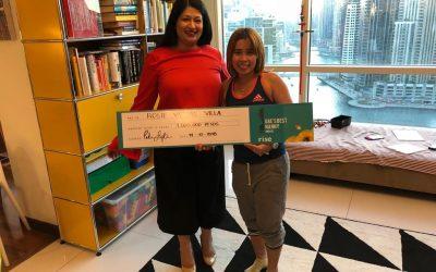 'Sya naman ang aalagaan ko' – 'UAE's Best Nanny Award' recipient says of her daughter